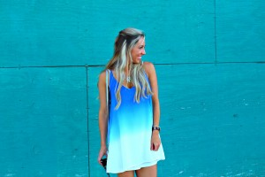 Must Have Blue Slip Dress