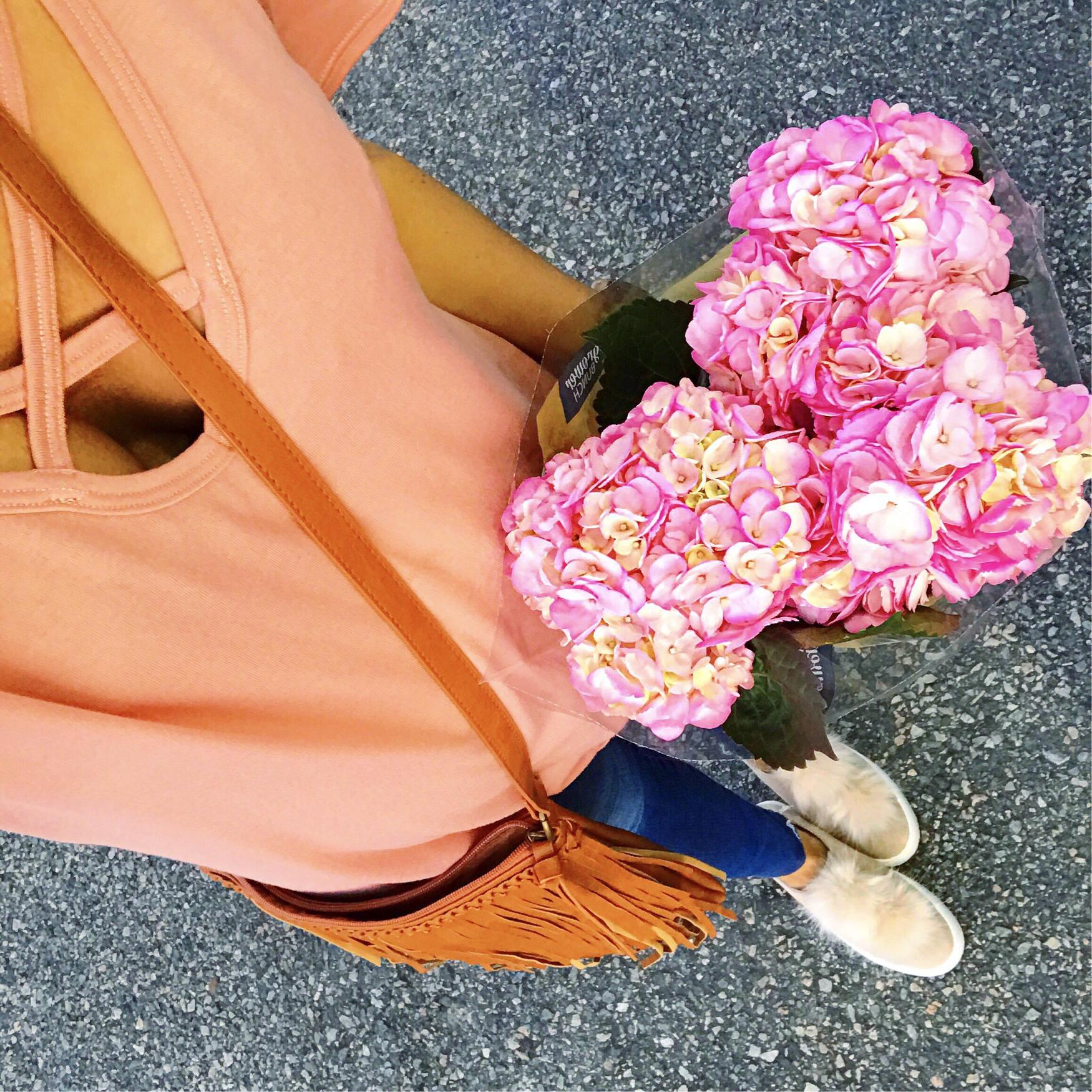 Pom Pom Shoes & Fringe Bag