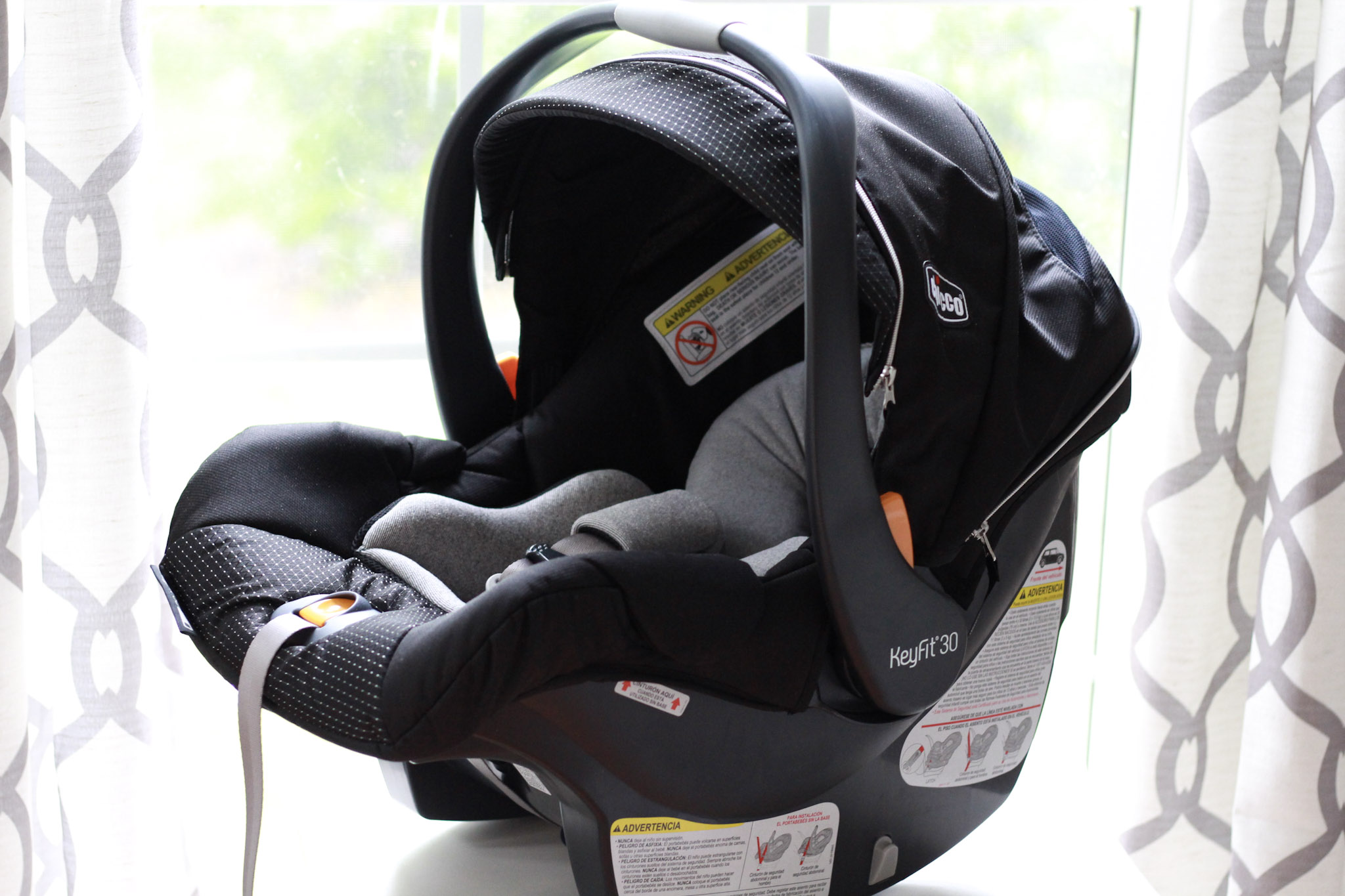 safest carseat - chicco keyfit30