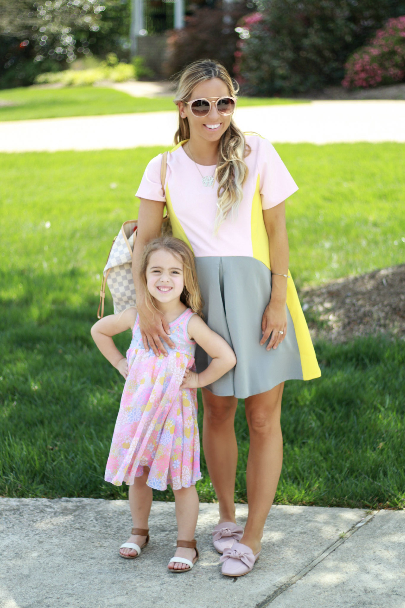 Maternity Style Colorblock Dress