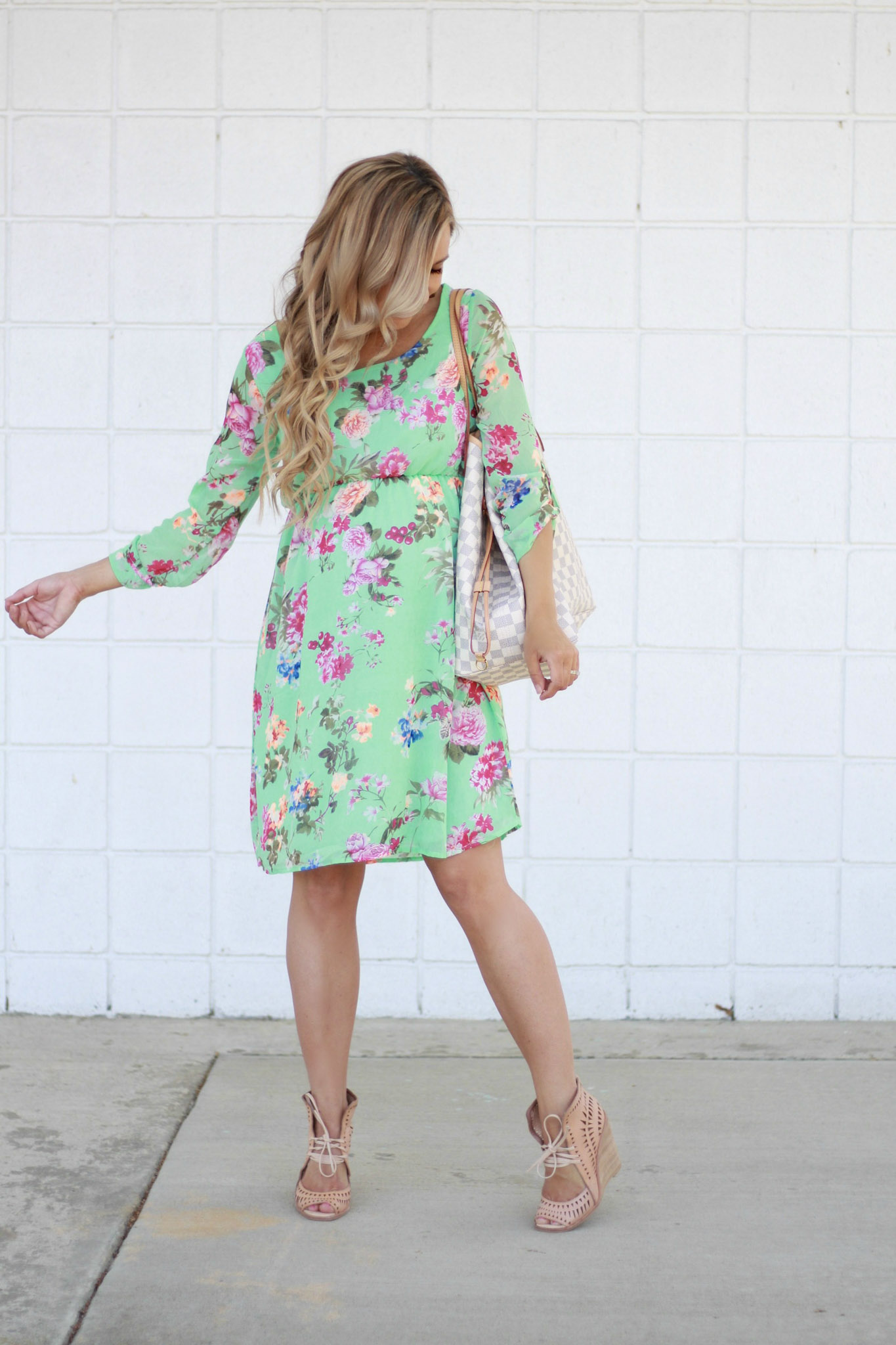 Perfect Dress for a Spring Baby Shower