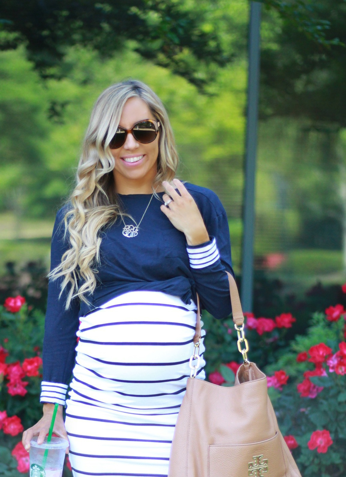 Nautical Maternity Look