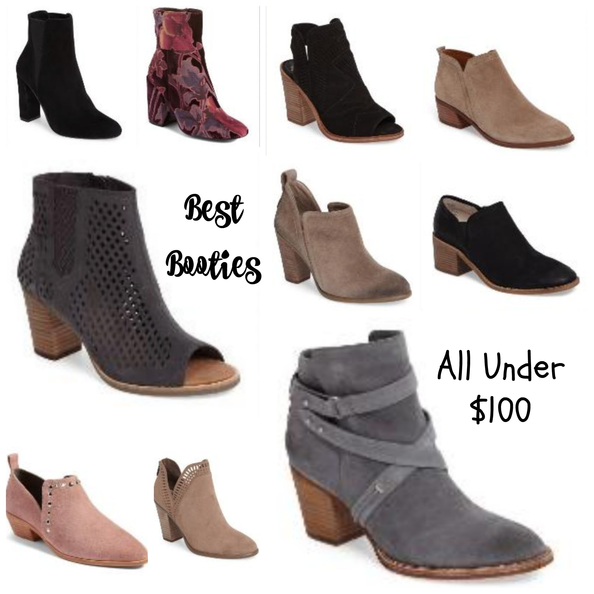Booties Under 100 Nordstrom Anniversary Sale
