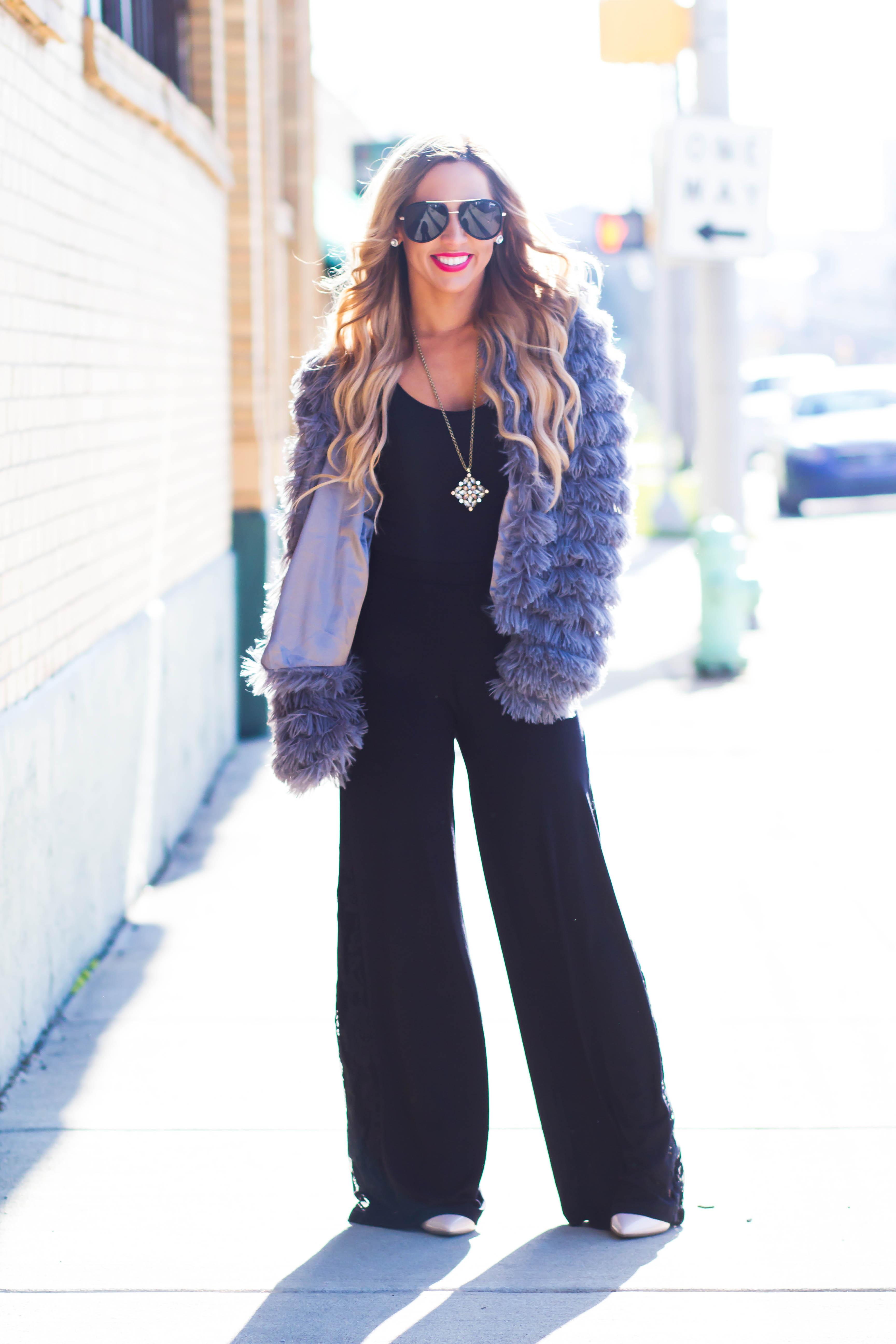 holiday glam outfit