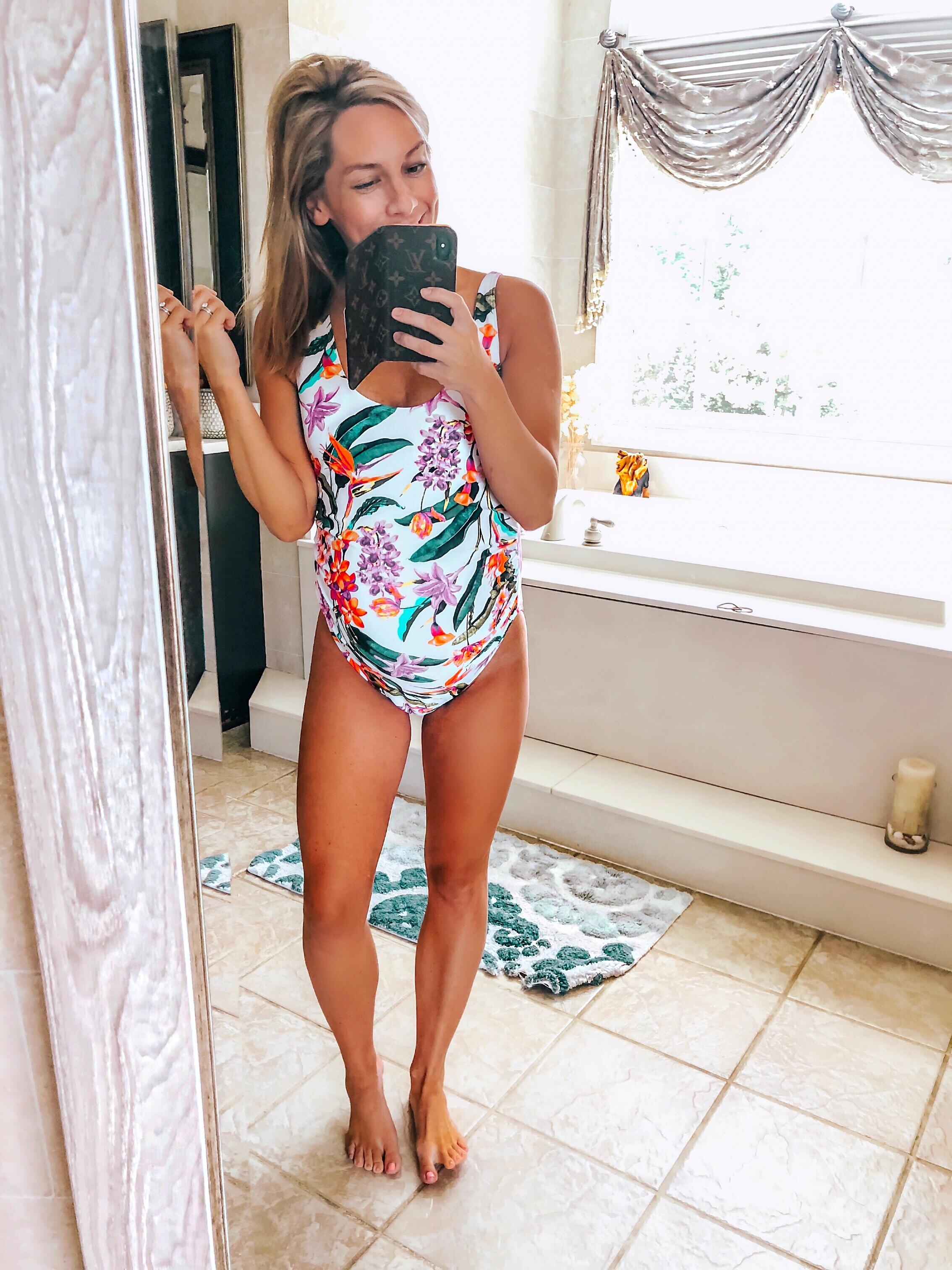 buy best utterly stylish cozy fresh Cute & Flattering Maternity Swimsuits! & a 37 Week Bumpdate ...