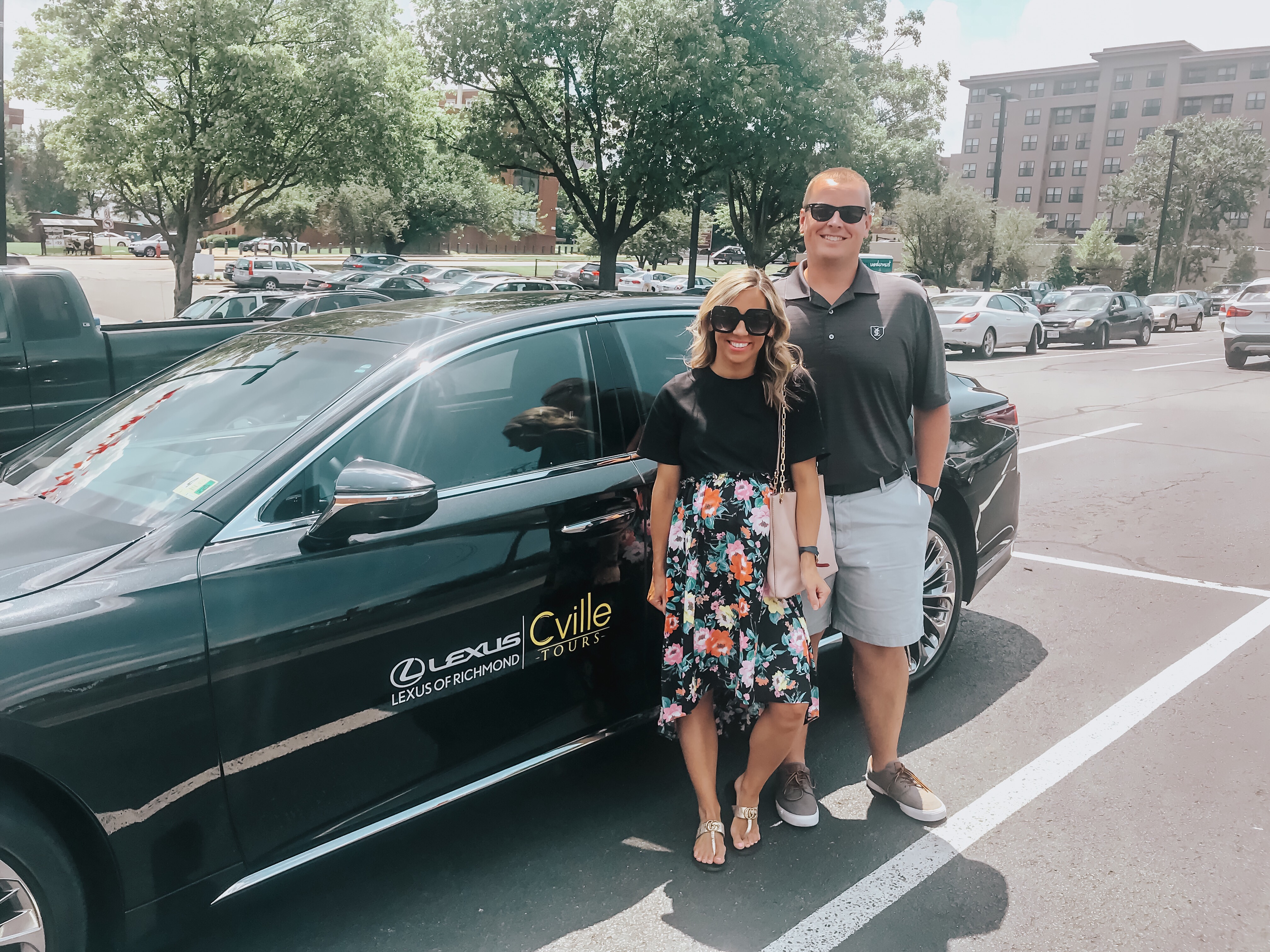 a taste of luxury with cville tours & lexus of richmond - according